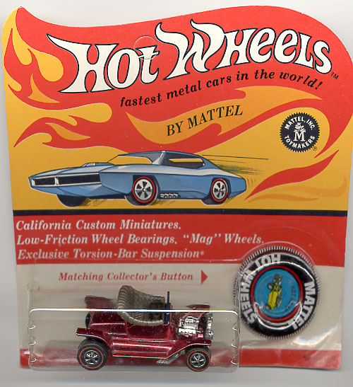 1968 hot wheels on camaro bandit car